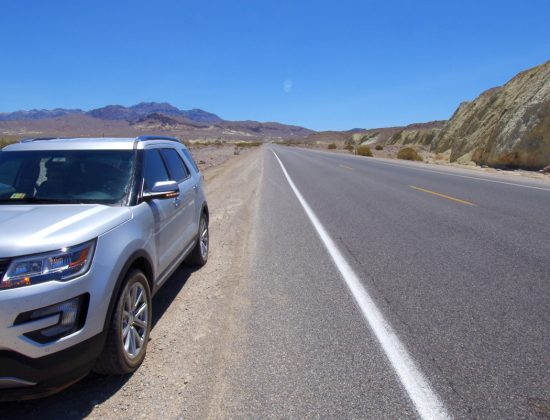 Death Valley & road again…