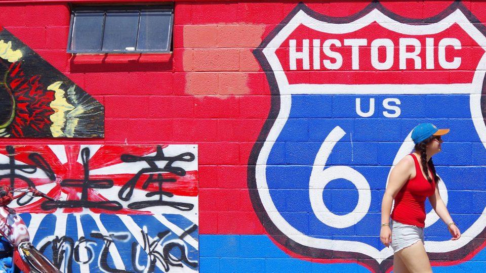 Sur la Route 66…